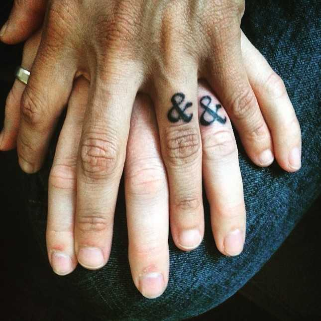 182532c13ffb8 21 wedding ring tattoo ideas ideas for your never-ending love story ...