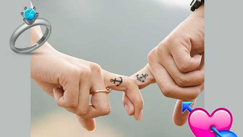 cc2408d54 21 wedding ring tattoo ideas ideas for your never-ending love story | Closer