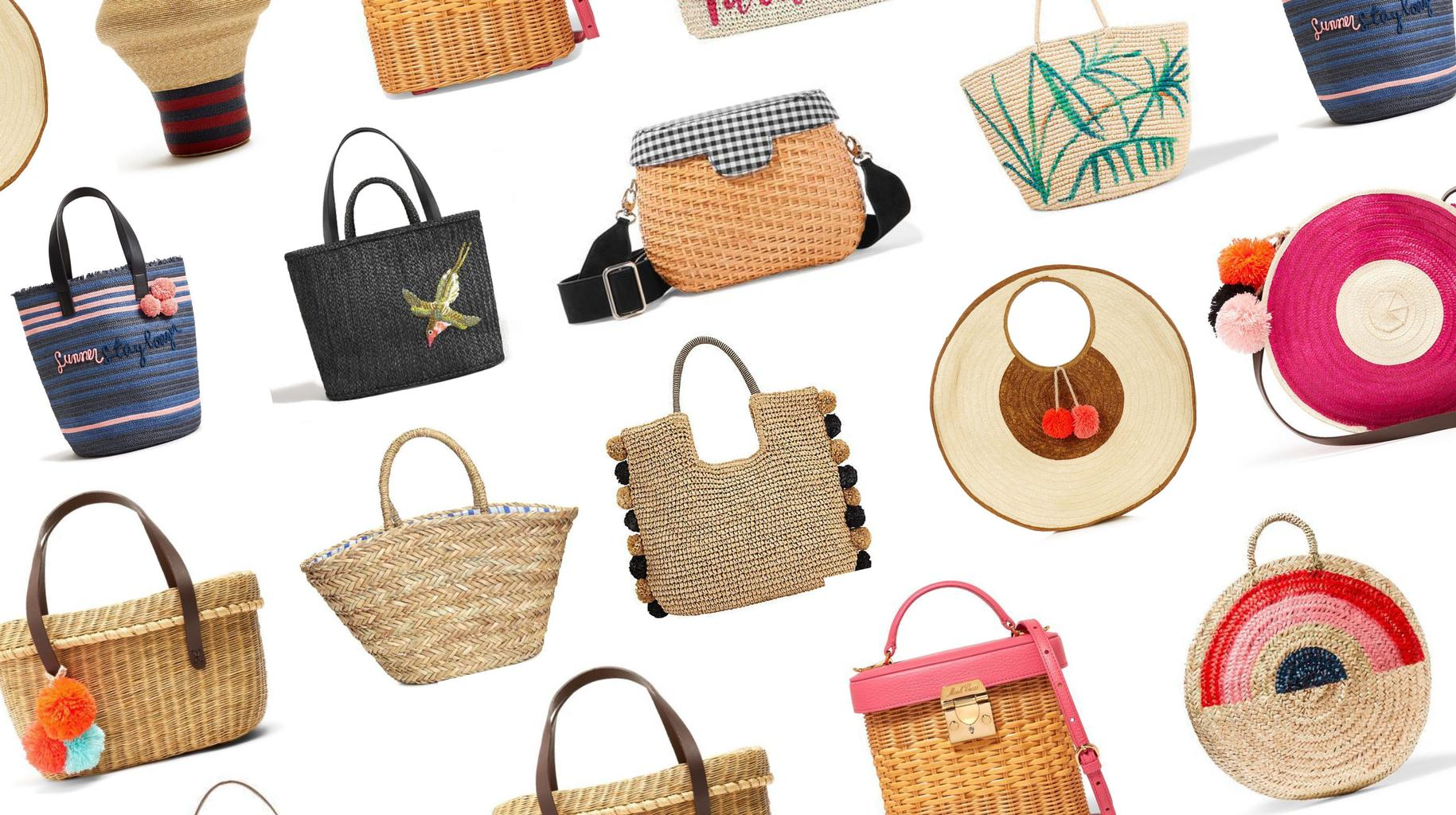 The Best Basket Bags To Now Grazia