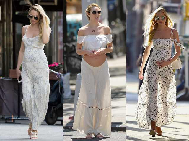 d6b9bc6fcf Candice Swanepoel maternity style © Getty Images   Rex Features