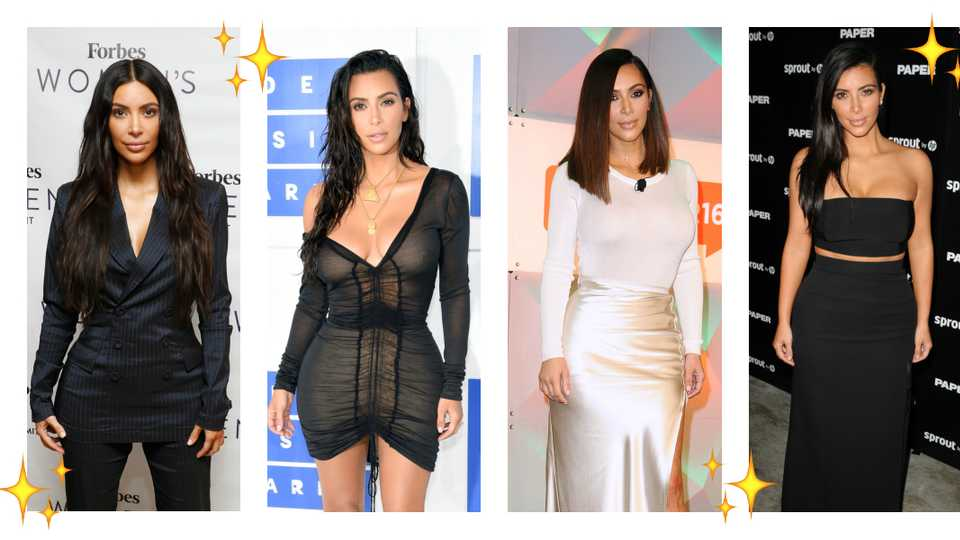 73e1f441d Recreate Kim Kardashian's most iconic outfits with these high-street buys |  Style | Heat