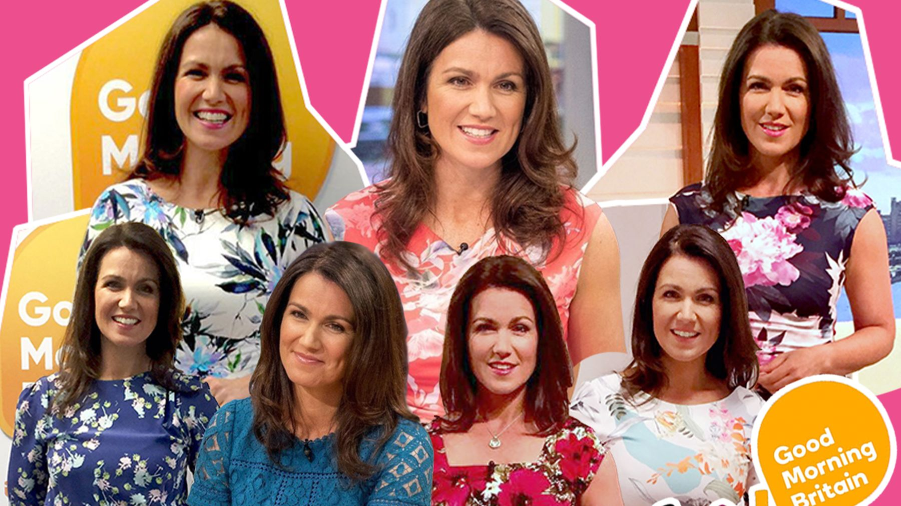 f3702240ffe Susanna Reid: All her clothes from Good Morning Britain in July | Closer