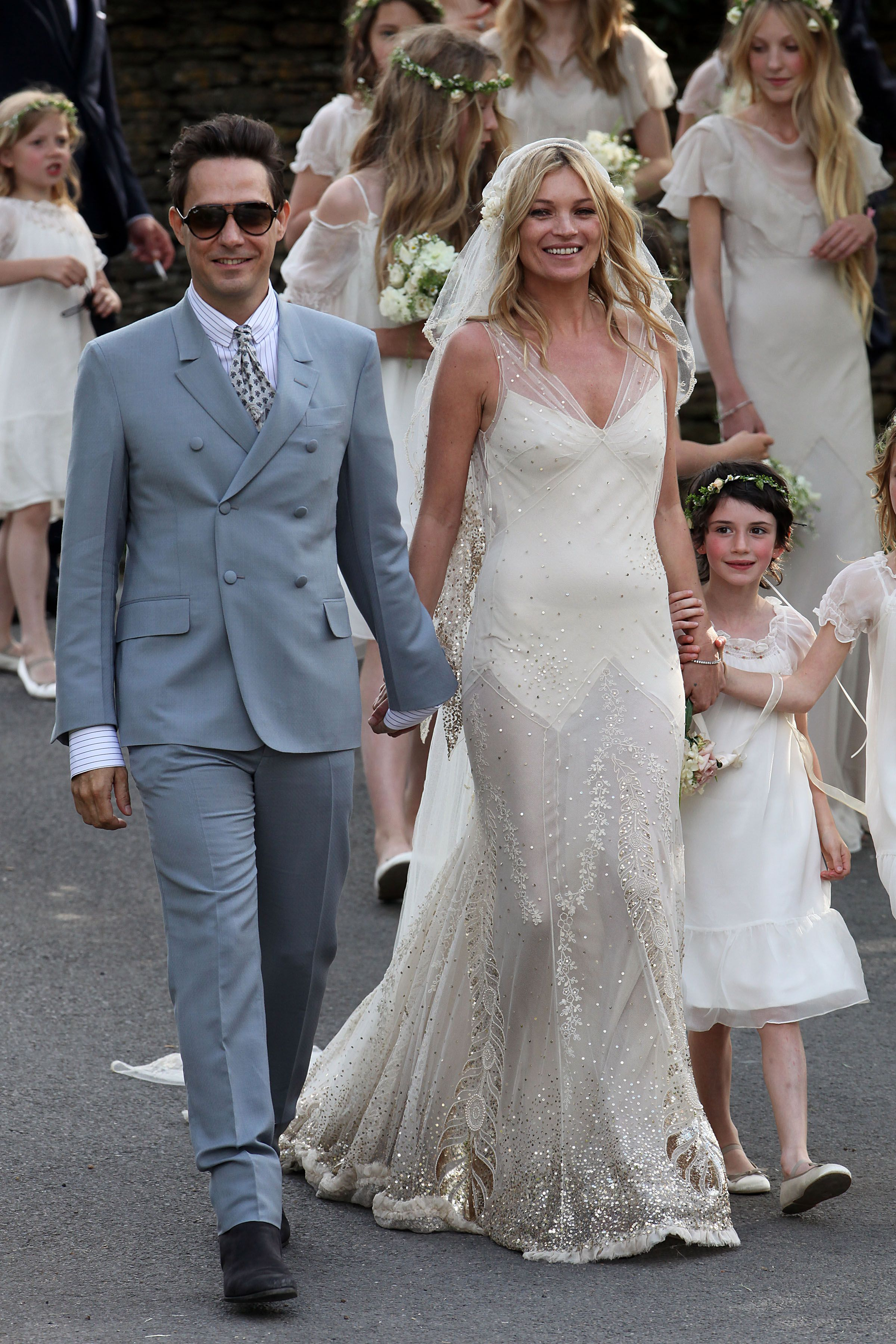 As Natalia Vodianova Ties The Knot Here Are The Best Celebrity Wedding Dresses Of All Time Grazia