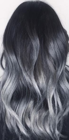 Grey Ombre What You Need To Know Before Trying The Trend Grazia