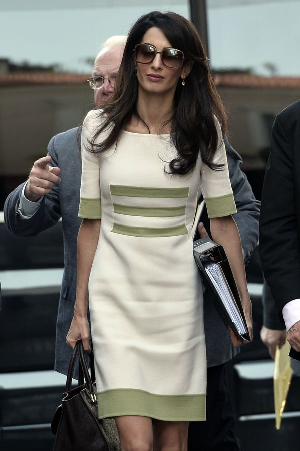 Amal Clooney's Most Empowering Moments | Grazia