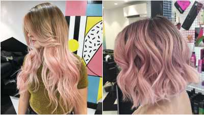 Blush Balayage The Bold New Way To Wear Your Colour