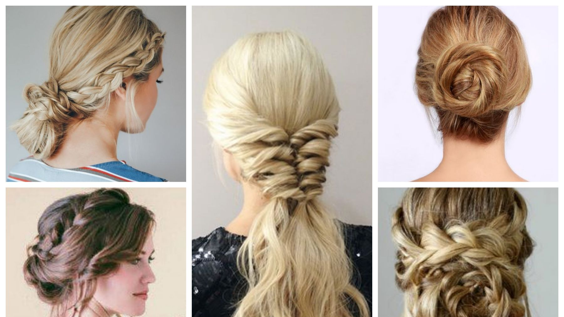long hair updos: 9 of the best pinterest tutorials | grazia