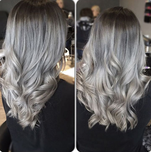 Grey Ombre How To Dye Your Hair Fashion S Favourite