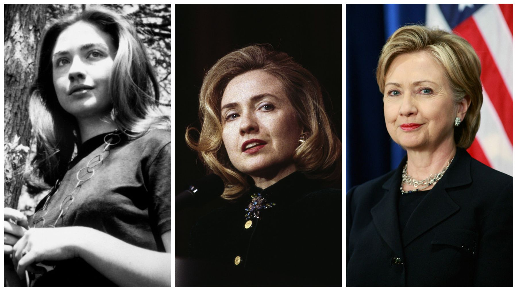 A Brief History Of Hillary Clinton S Hair Grazia