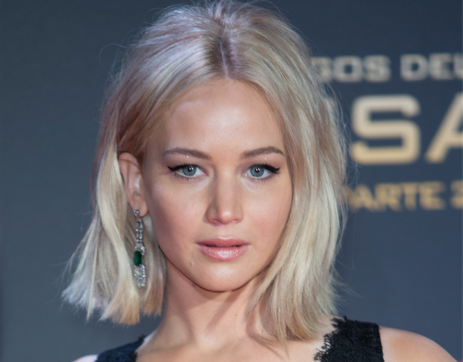 Bye Bye Bob Jennifer Lawrence Debuts Her Dramatic Hair Makeover Grazia
