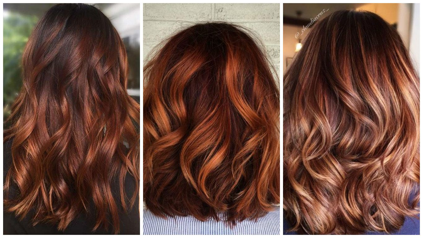 75611aa1368 ... away from balayage either; ask your hairdresser for the best shades to  complement your colour - putting strawberry blonde highlights through dark  red ...