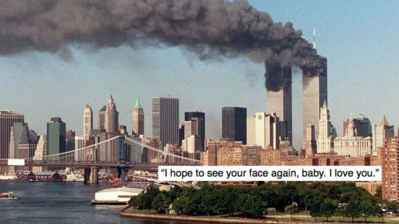 Remembering 9/11: The Final Messages Sent By Victims - Closer