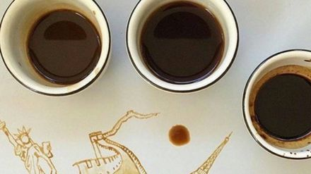 The Most Amazing Instagram Coffee Art Ever Closer