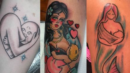 Breastfeeding Tattoos Are The Latest Way For Mums To Celebrate