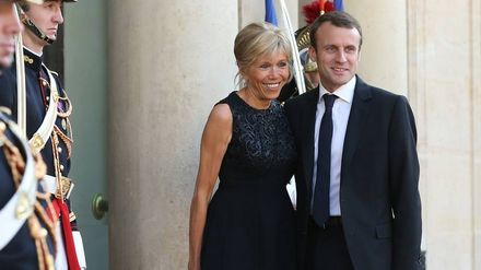 Emmanuel Macron S Defence Of His Older Wife Was A Fist Pump Moment For Women Everywhere Grazia