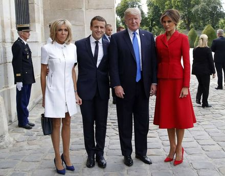 Why The Media S Obsession With Brigitte Macron S Legs Makes Me Uneasy Grazia