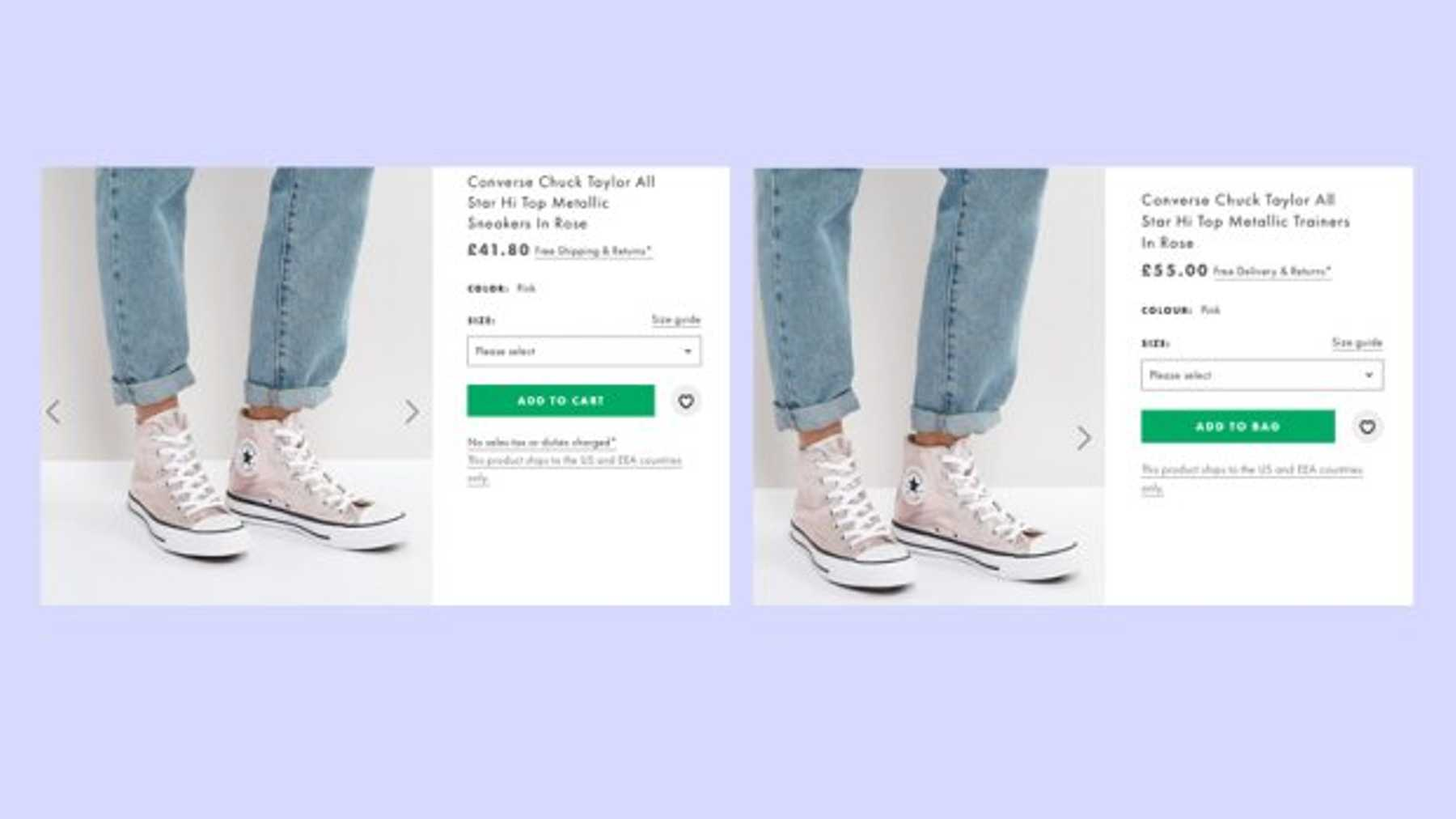 37c04d347e4f Shopping on the US site and switching back to sterling means you can save  big on brands