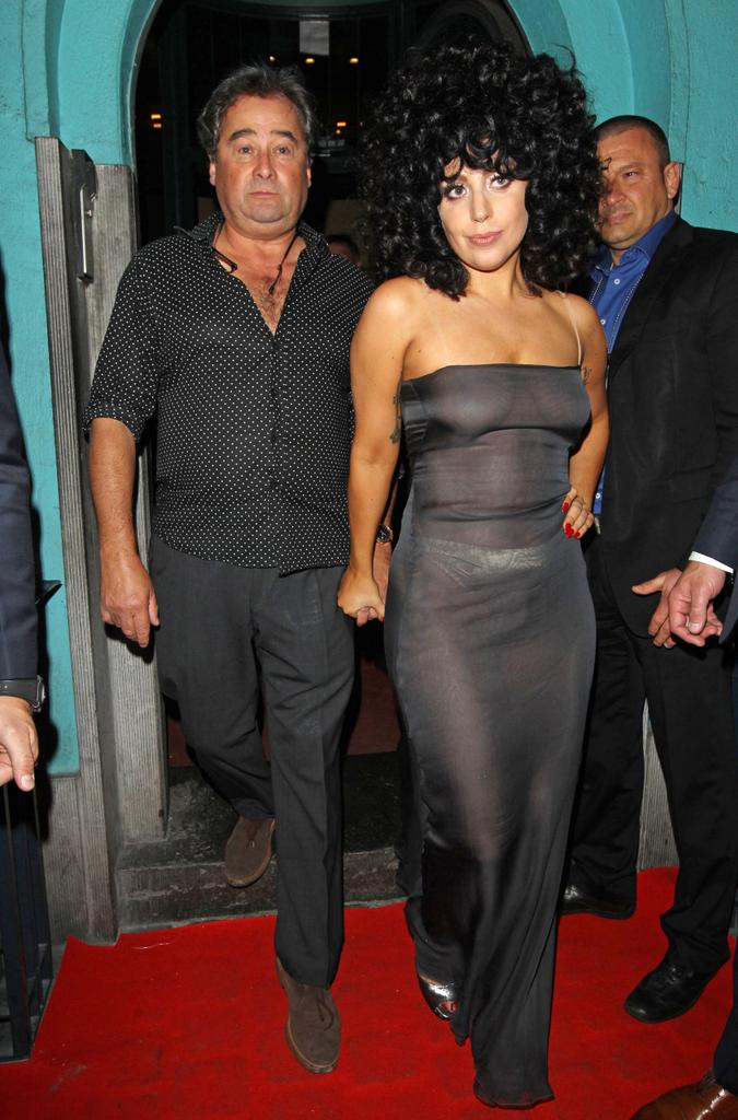 Lady Gaga Shows Off Everything In See Through Dress Style Heat