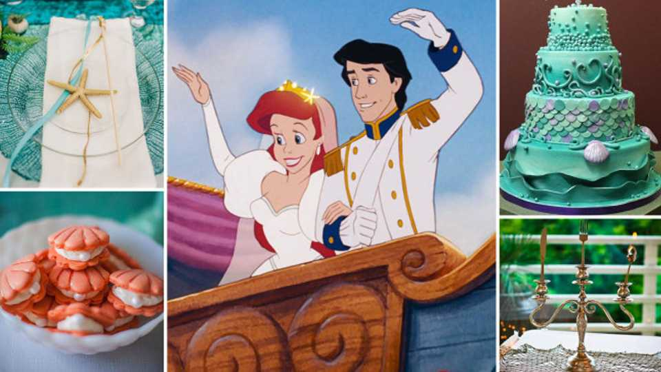 ea97ca93653 These 23 tips will help you plan the ultimate Disney s The Little Mermaid-themed  wedding
