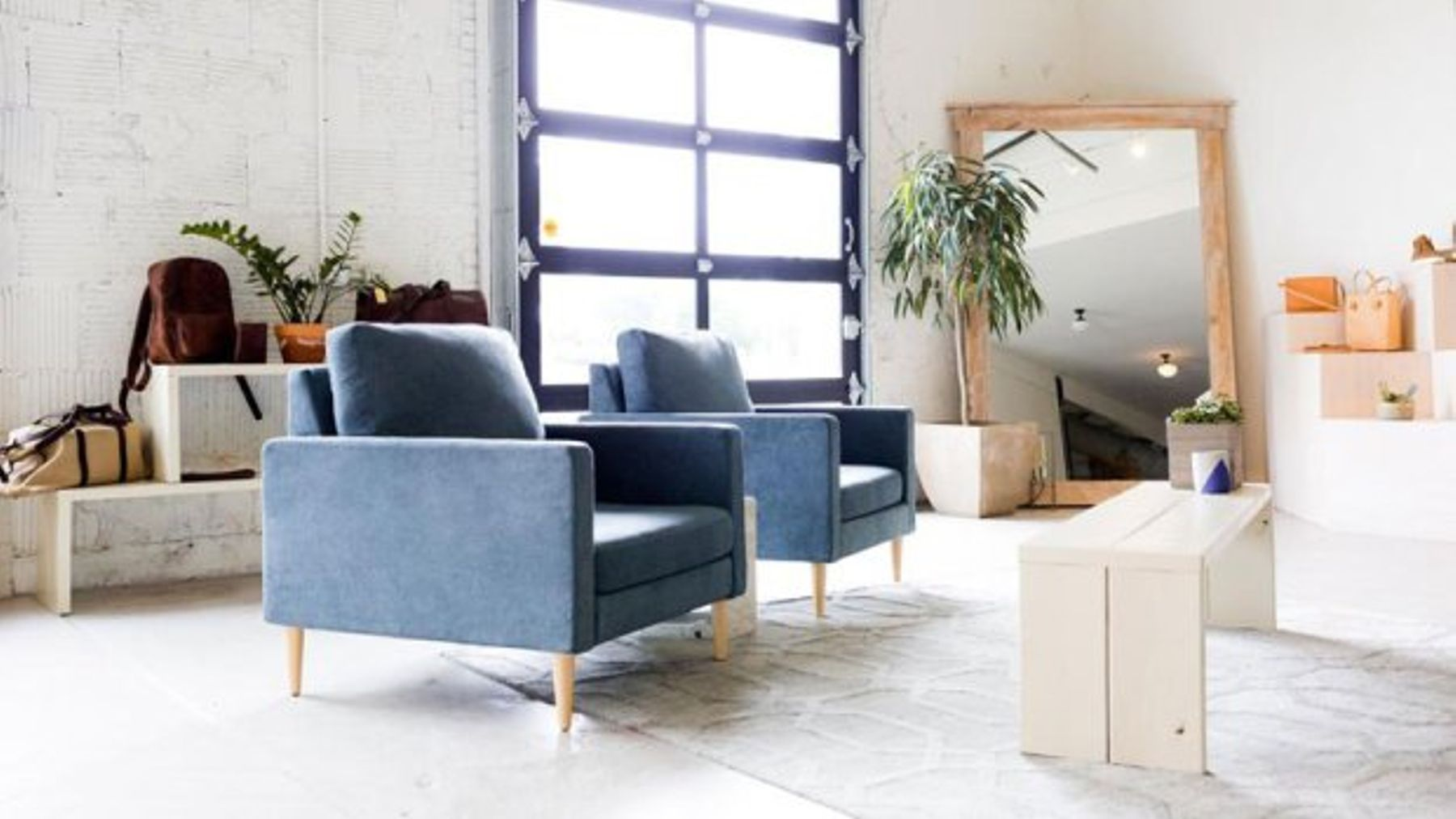 A New Furniture Company Has Designed High Quality Flat Pack Sofas That Can Be Sent In The Mail With Your Other Online Orders