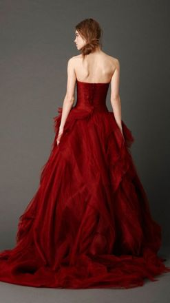 Brides Why Wear White 19 Beautiful Red Wedding Dresses Closer