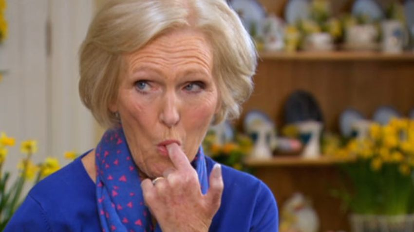 There S A Twitter Dedicated To Mary Berry Eating Just When You Thought There Couldn T Be Any More Memes Grazia