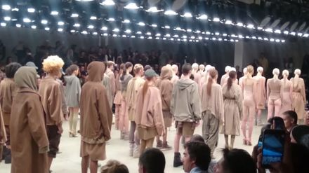 Kanye West S Fashion Show What You Need To Know Grazia