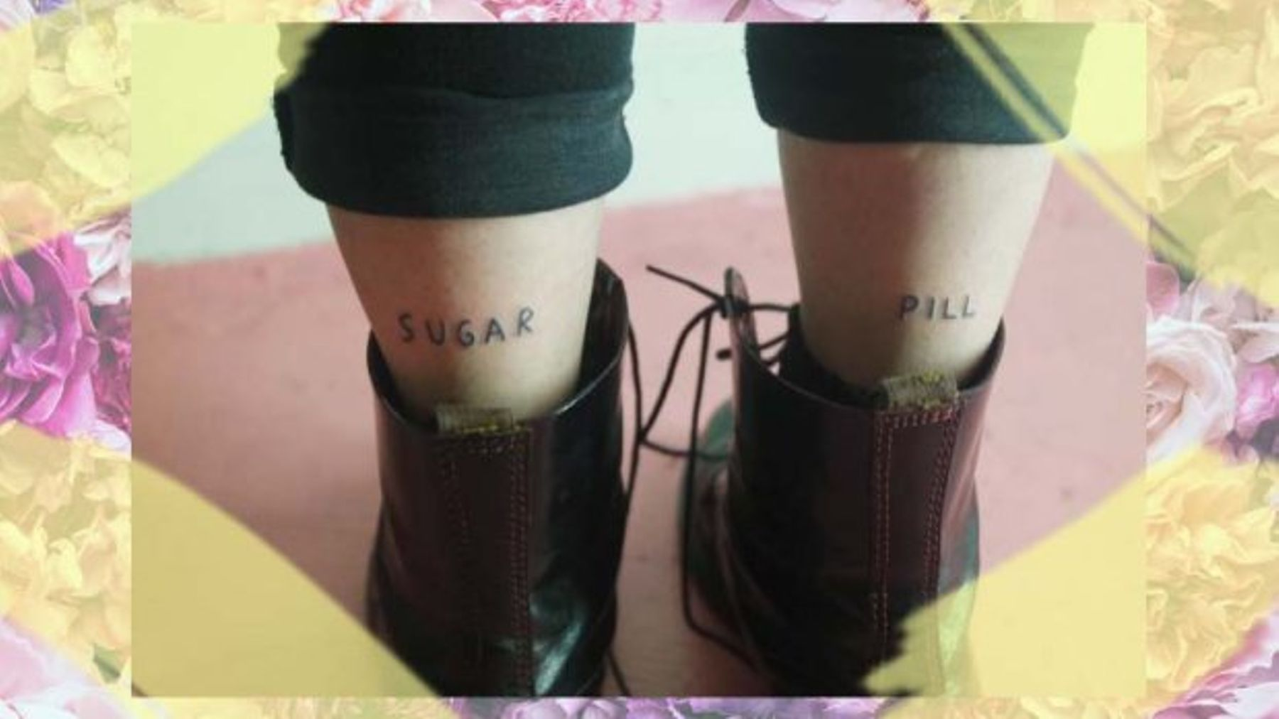 ede53afa8 11 Non-Ironic Ankle Tattoos That Will Make You Want To Be Bare Leg ...
