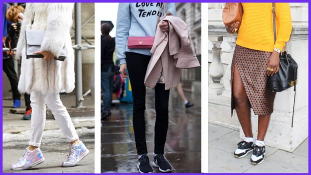Here's How To Wear Trainers To Work