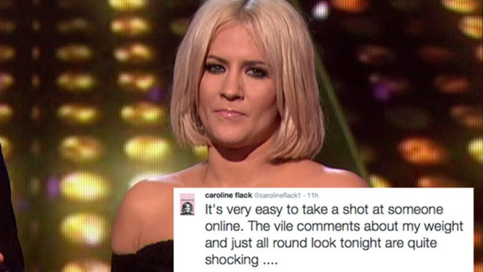 Caroline Flack wanted LIPOSUCTION after cruel Twitter trolls accused her of being pregnant