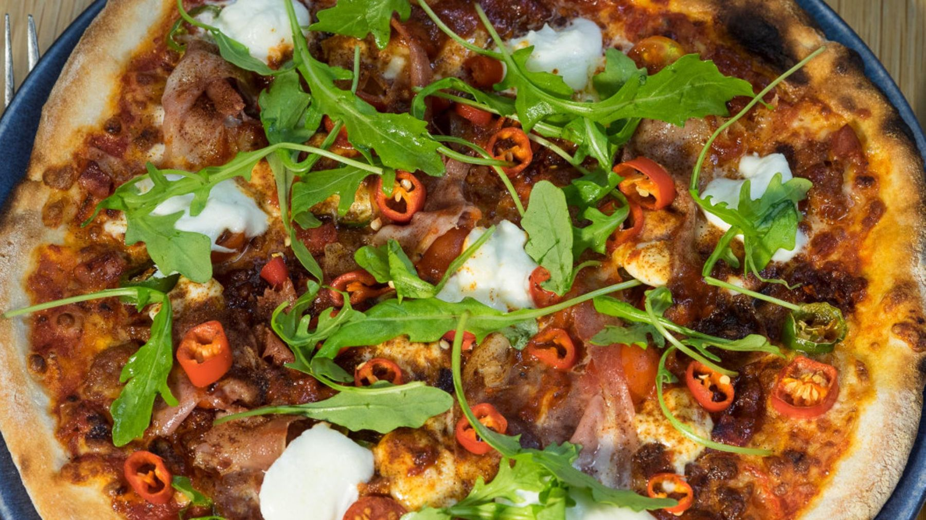The Hottest Pizza In London We Tried It Grazia