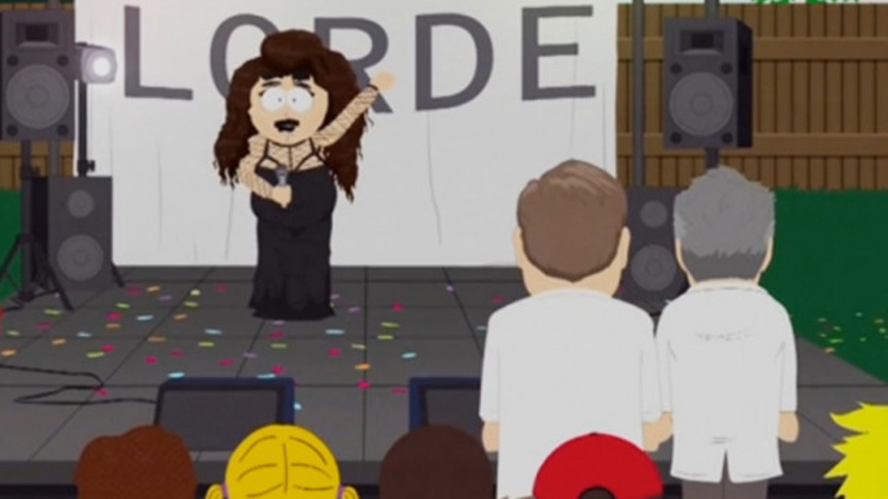 South Park Does A Lorde Skit  But Who's It Taking The P*ss