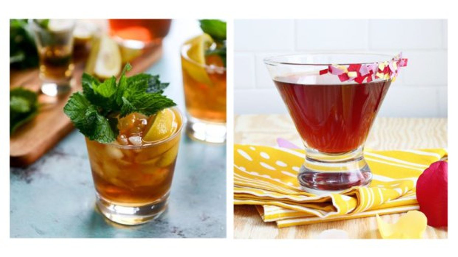 Tea Yes Tea Cocktail Recipes To Booze Up Your National