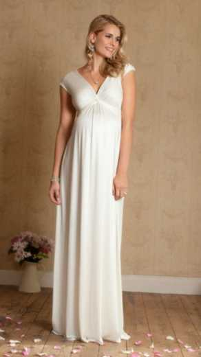Gorgeous And Affordable Wedding Dresses For Pregnant Brides Closer