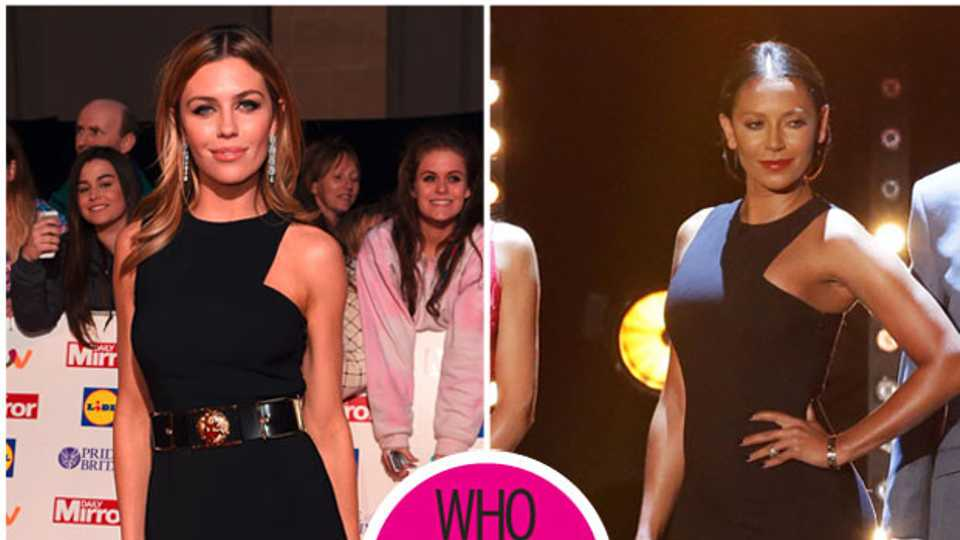 9a1ed67d94a1 Mel B vs Abbey Clancy – who wore this Versace frock best? | Style | Heat