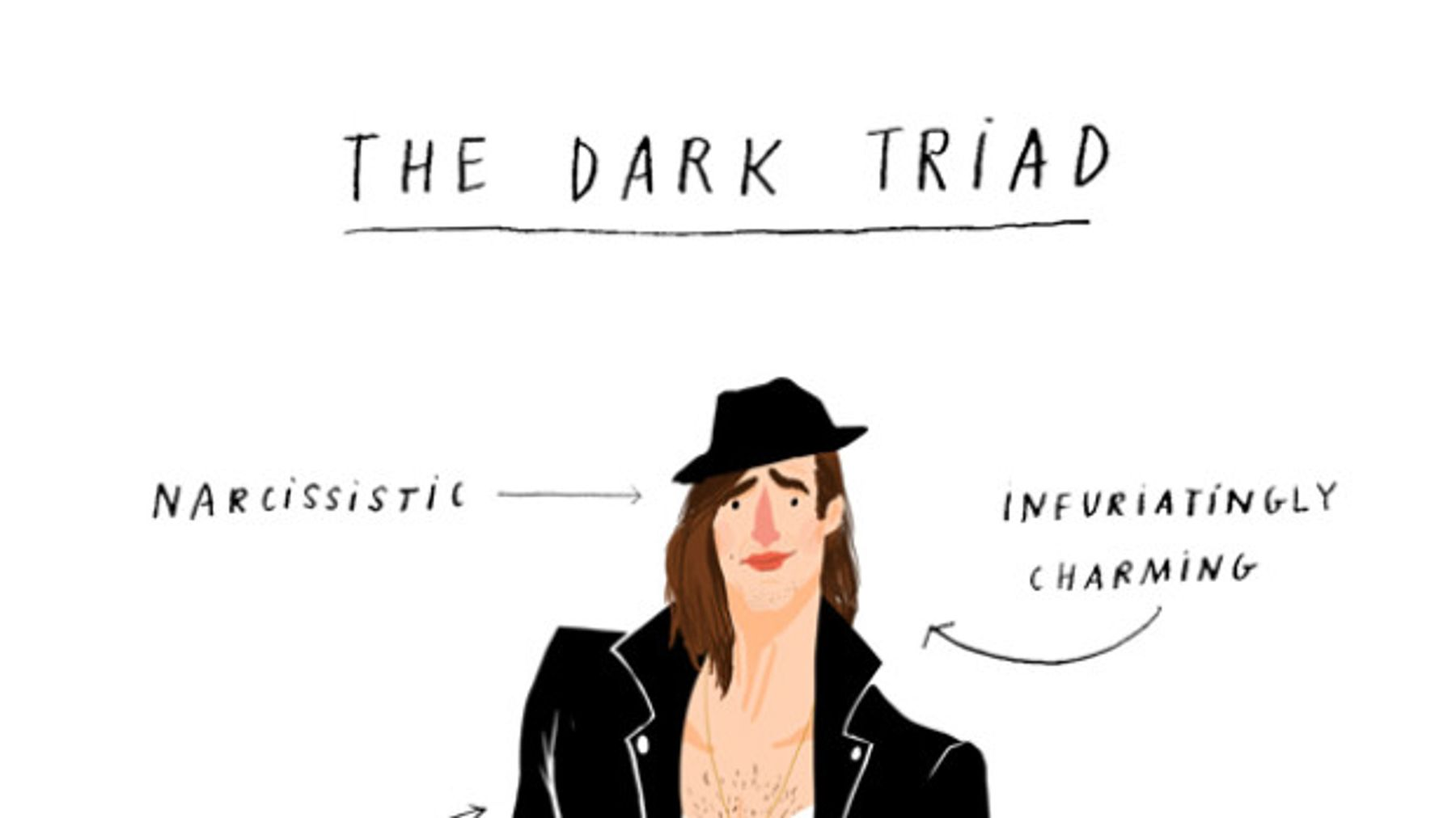 The Dark Triad: The Scientific Reason Why We're So Attracted To