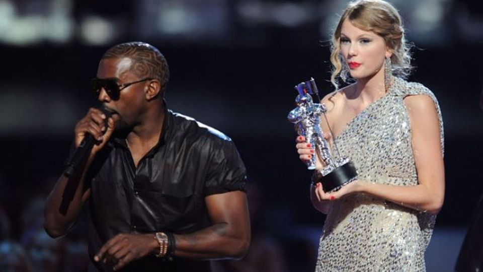 Kanye West didn't let Taylor Swift finish - and he relied ...