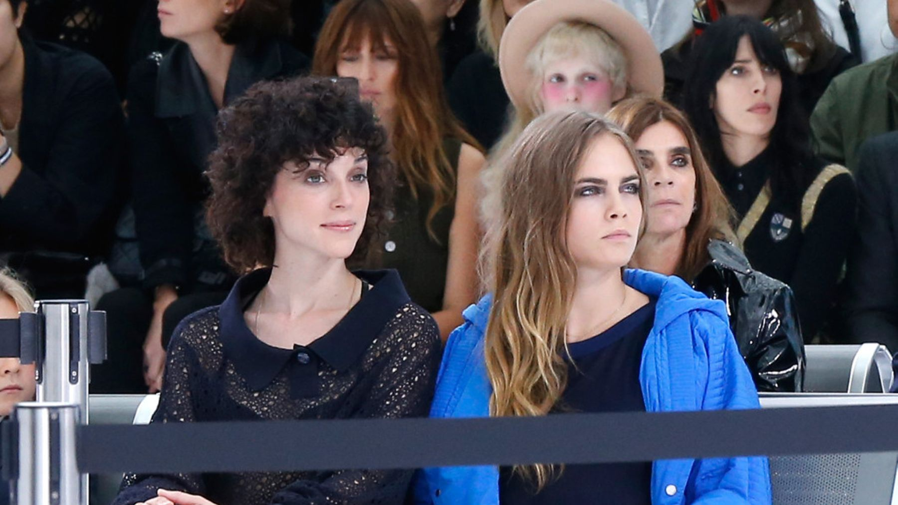 Cara Delevingne And St Vincent Wear Matching Rings On Their