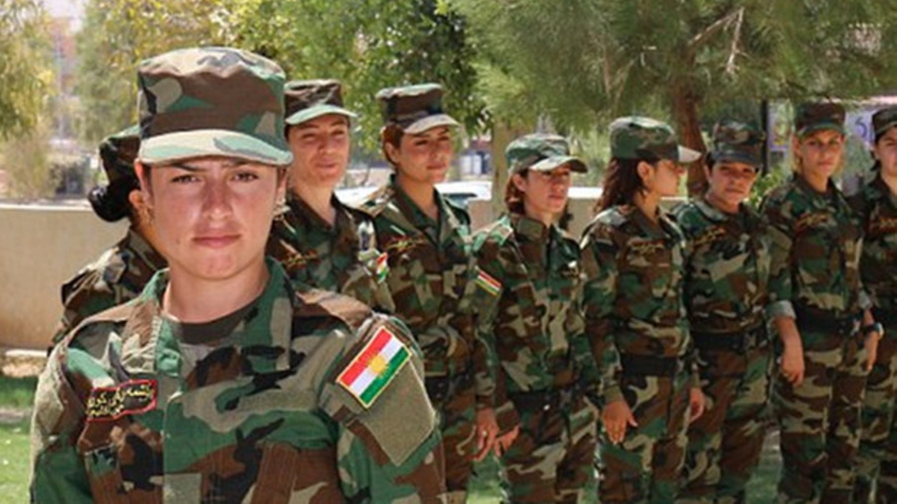 Meet The Female Soldiers Fighting ISIS For Revenge On The Group's