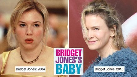 Bridget Jones 3 First On Set Pics Of Renee Zellweger Are In And She Has A Baby Bump Closer