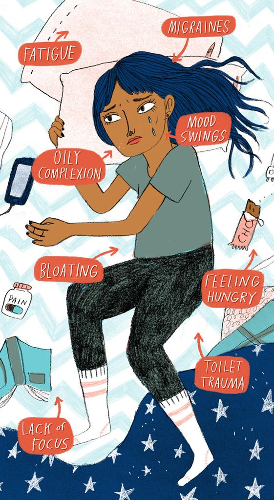 Ask An Adult: What Happens To My Body The Week Before My Period