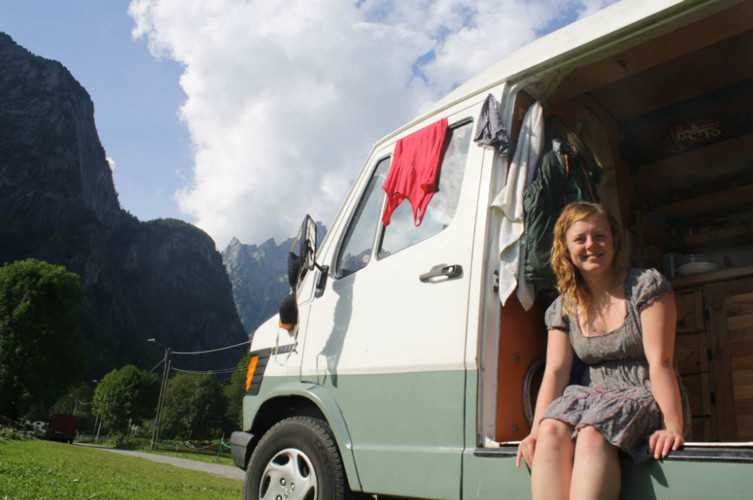 1f149d22e5 Meet The Young Women Beating The Housing Crisis By Living In A Van ...