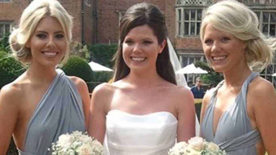 ee7d81957df Celebrities as bridesmaids - from Jessica Simpson to Keira Knightley. They.  Are. Gorgeous