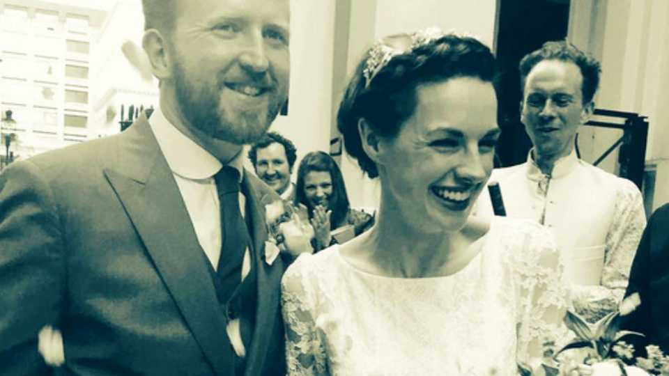 Call The Midwife's Jessica Raine marries her fiancé Tom