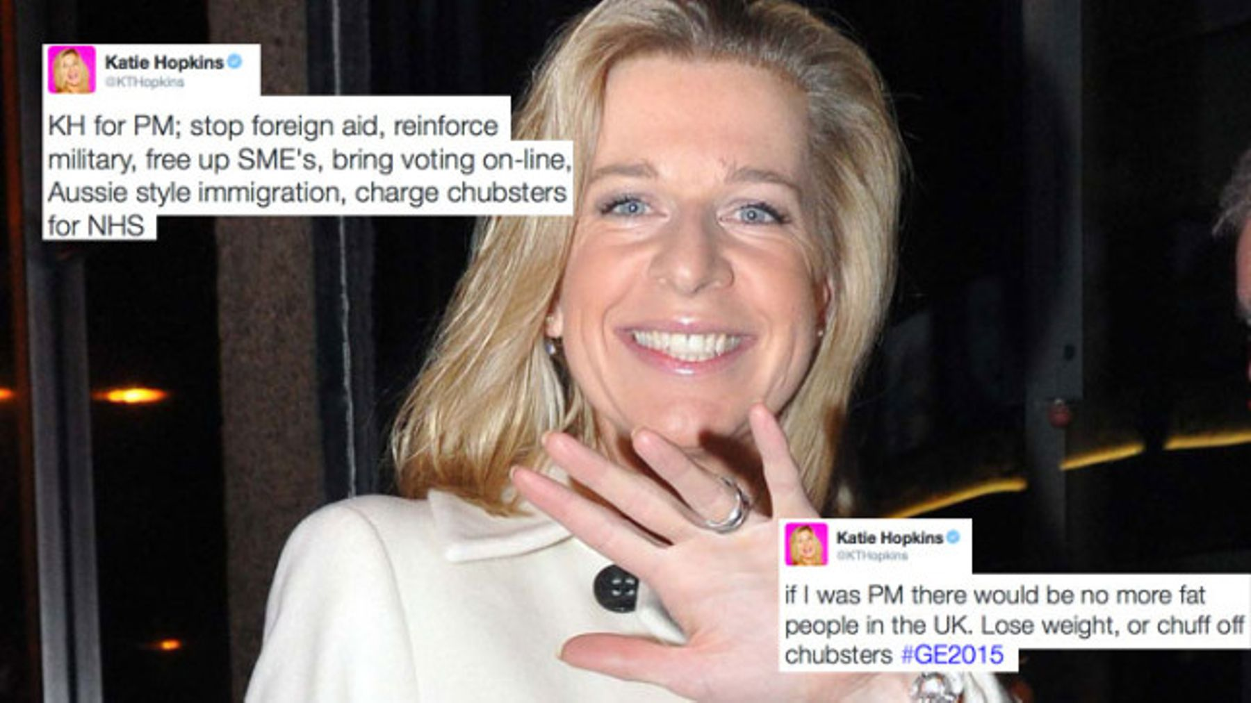 Katie Hopkins triumphantly takes to Twitter over election