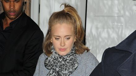 Adele Has Called In Close Pal Robbie Williams To Cheer Her Up After Her Album Is Delayed Celebrity Heat