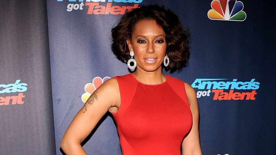 Mel B walks out of interview after being questioned on ...