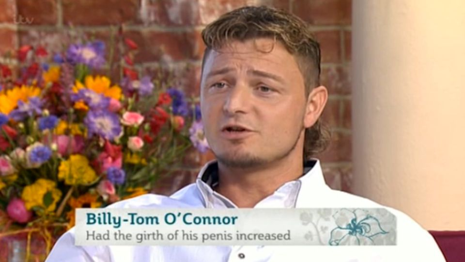This Morning: Man with 10-inch penis reveals he had it