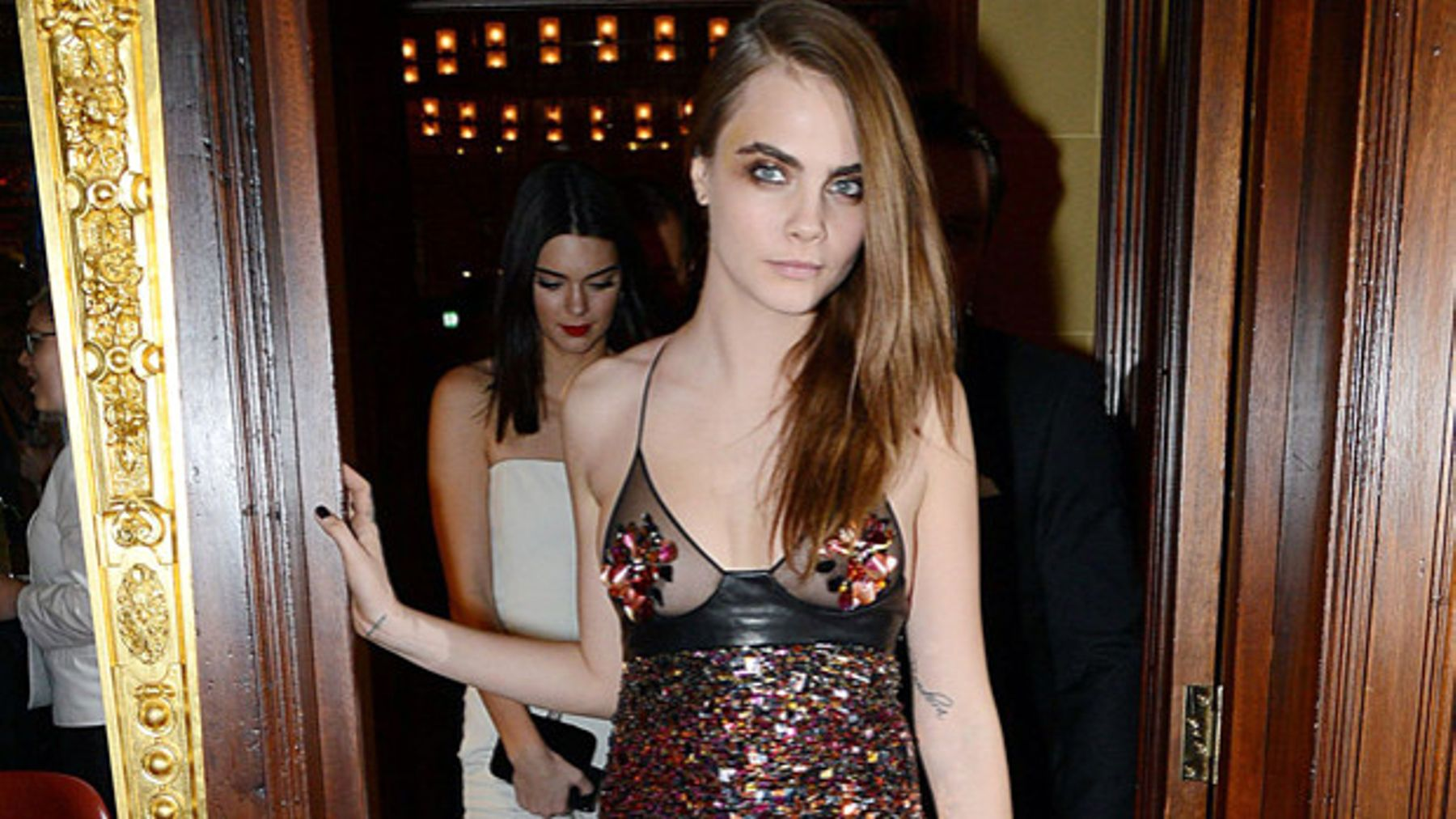 d3727fc36be Cara D stepped out with them, so did Miley, why are we going cray cray for  glittery nipples?
