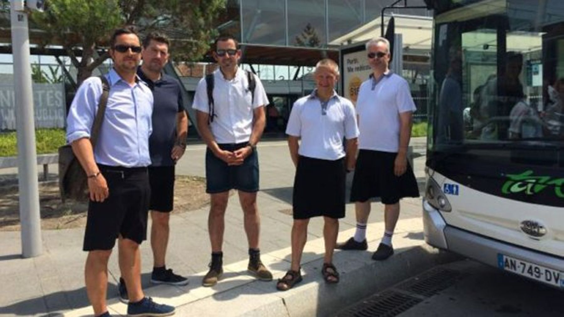 Here's Why Bus Drivers In France Are Wearing Skirts | Grazia